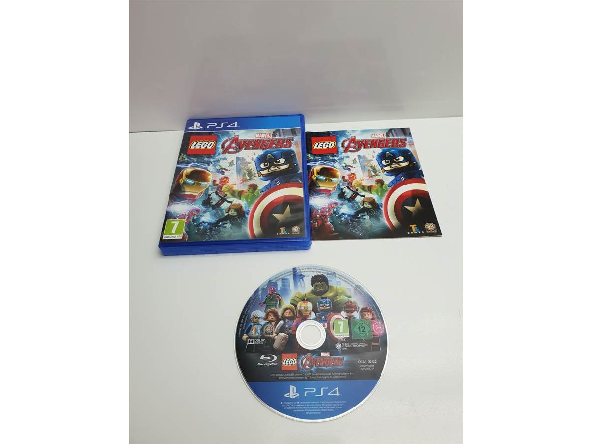 Juego Ps4 Lego Marvel Avengers Completo Pal Esp