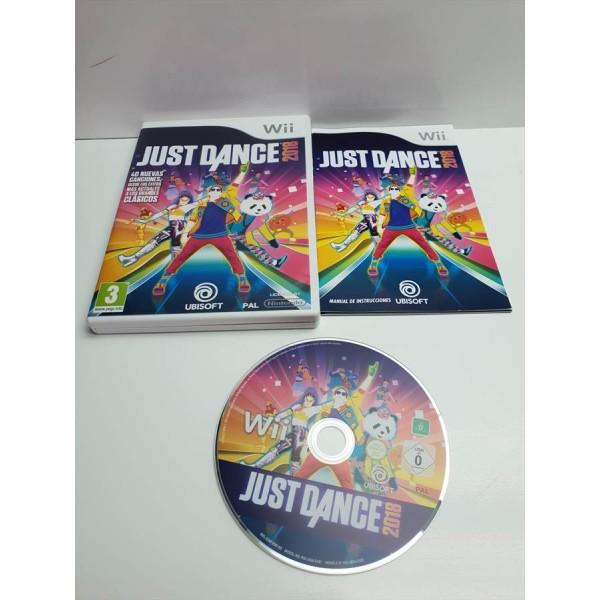 Juego Nintendo Wii Just Dance 2018 Comp