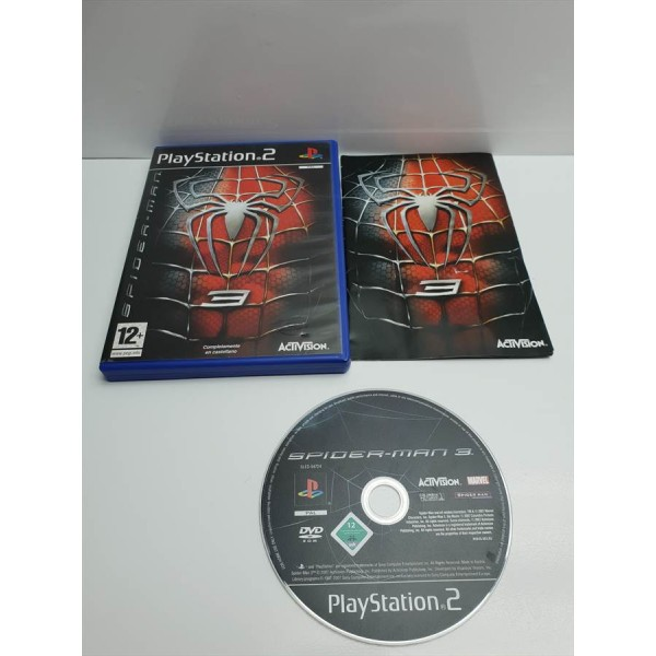 Juego PS2 Spiderman 3 Comp