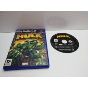 Juego PS2 The incredible Hulk En caja