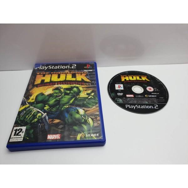 Juego PS2 The incredible Hulk En caja