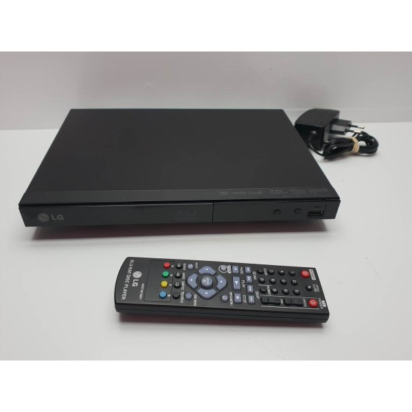 Reproductor BluRay LG BP125 con mando