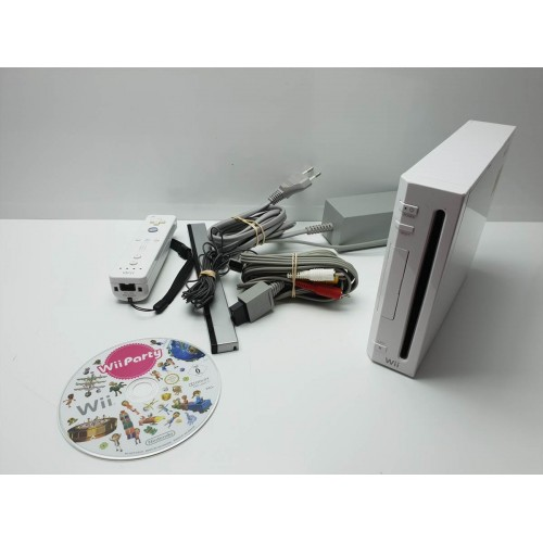Consola Nintendo Wii Blanca Completa