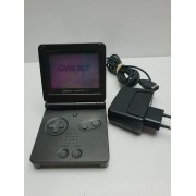 Game Boy Advance SP Black AGS 001con cargador
