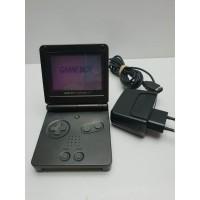 Game Boy Advance SP Black AGS 001con cargador