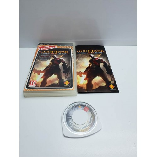 Juego PSP Completo God of War Ghost of Sparta