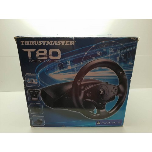 Volante PS4 PS3 y PC Thursmaster T80 Seminuevo