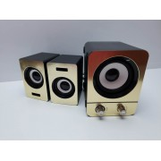 Altavoces PC 2.1 SM Gold