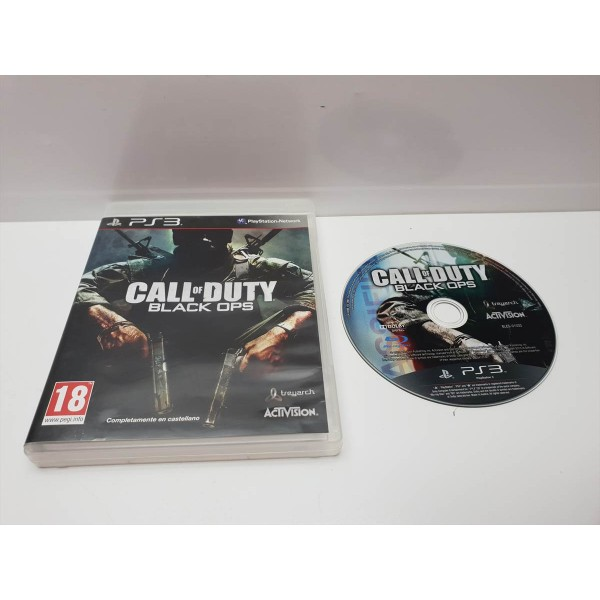 Juego PS3 Caja Call of Duty Black Ops