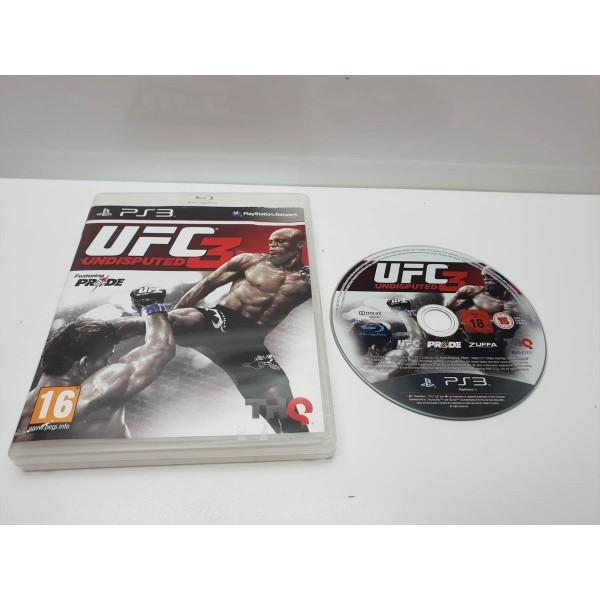 Juego PS3 Caja UFC Undisputed 3