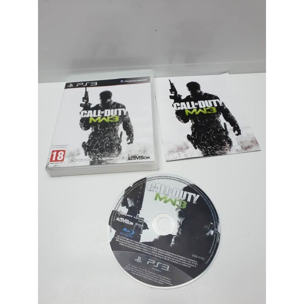 Juego PS3 Completo Call of Duty MW3