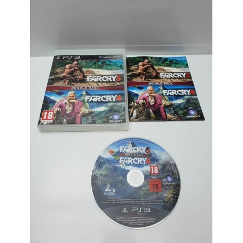 Juego PS3 Completo FarCry 3 y 4 Double Pack