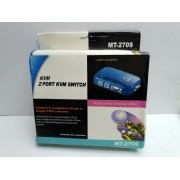 KVM 2 PORT KVM SWITCH VGA PS2 -4-