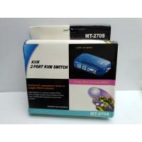 KVM 2 PORT KVM SWITCH VGA PS2 -1-