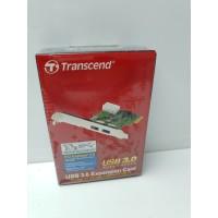 Tarjeta Puertos USB 3.0 PCI Express Transcend Nueva -2-