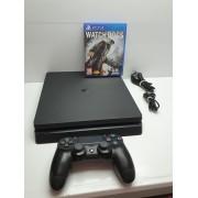 Consola Sony PS4 Slim 500Gb Completa y Juego