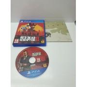 Disco Instalacion PS4 Red Dead Redemption 2 en caja