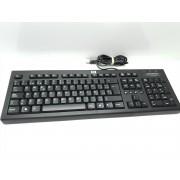 Teclado USB HP Black