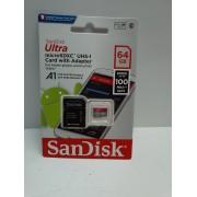 Tarjeta MicroSD Sandisk 64Gb Nueva