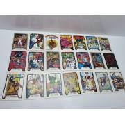 Lote 21 Cartas Colección Marvel 1990