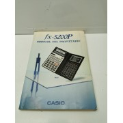 Manual Casio FX5200P