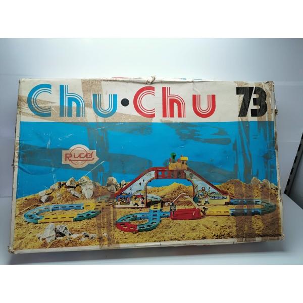 Trenecito Juguete Vintage Chu Chu 73 Rico
