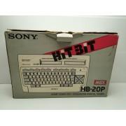 MSX Sony HB20P en caja
