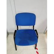 Silla de Oficina Azul -3-