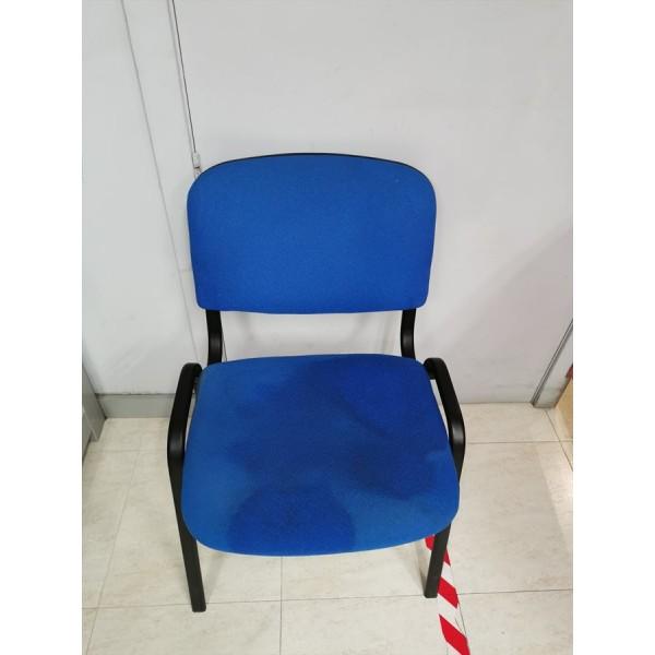 Silla de Oficina Azul -4-