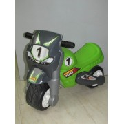 Moto Infantil Plastico Moto Feber Verde