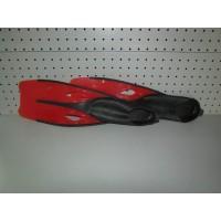 Aletas SM Talla 36-37 Color Rojo