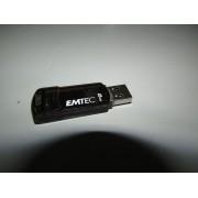 Pendrive 8GB EMTEC Negro