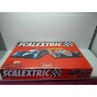 Circuito Scalextric C1 GT con Coches
