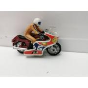 Moto BMW Granate Carenado y Piloto (Mira)