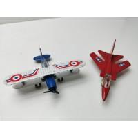 2 Aviones Mira: Tornado y Gloster