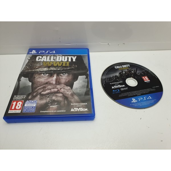 Juego PS4 Call of Duty WWII Completo