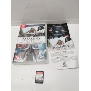 Juego Nintendo Switch Assassins Creed The Rebel Collection