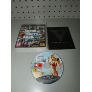 Juego GTA V Comp con mapa PS3 PAL ESP -1-