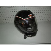 Casco Moto Origine Negro Transformable T-M