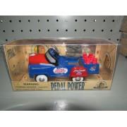 Pedal Power 1/10 Pepsi Cola Azul Rojo Nuevo
