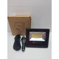 Foco LED Iglux IP66 Portatil 12V con Cable de 5M Nuevo