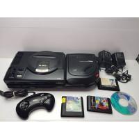 Consola Mega Drive y Mega CD 2 Completa