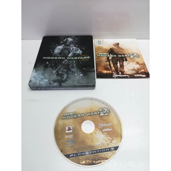 Juego PS3 Call of Duty MW2 Caja Metalica