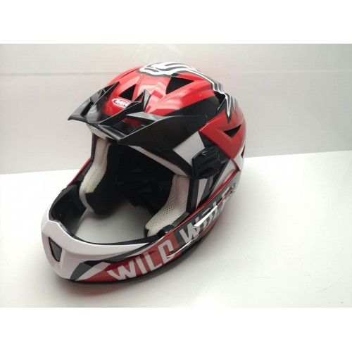 Casco Motocross Shiro Wild Wolf T-M