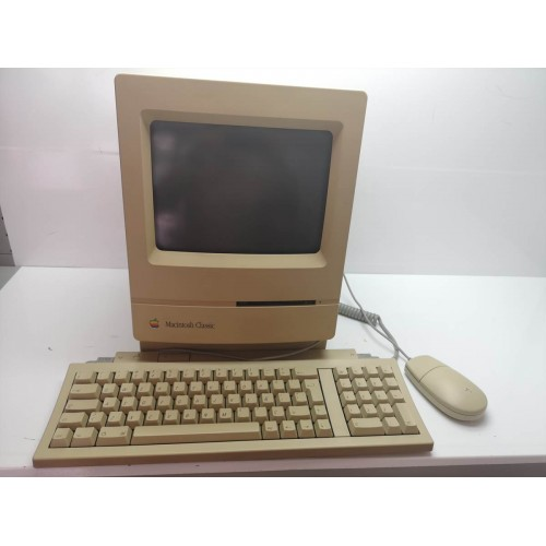 Apple Macintosh Classic M1420 Complete whit problem Chess Screenboard