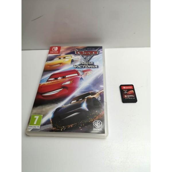 Juego Nintendo Switch Cars 3 Hacia la Victoria
