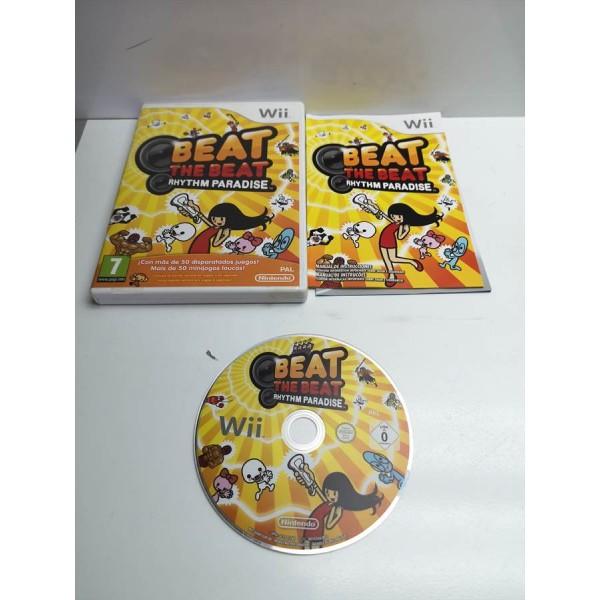 Juego Nintendo Wii Beat The Beat Rythm Paradise