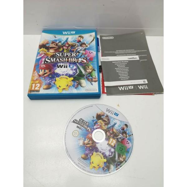 Juego Nintendo WiiU Super Smash Bros