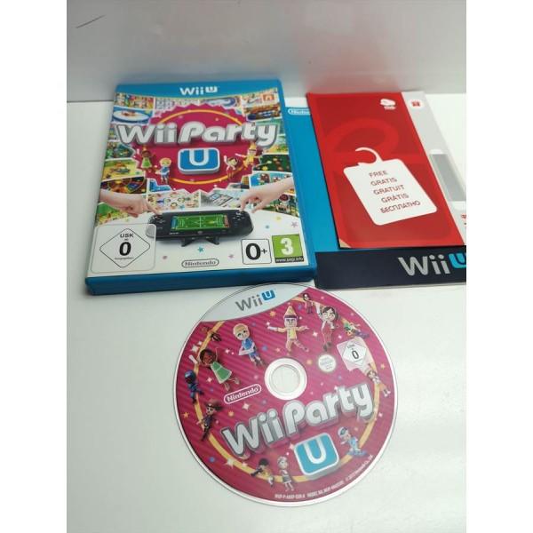 Juego Nintendo WiiU Wii Party