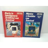 Pack Libros Amstrad España Hacia la Inteligencia y Musica y sonidos